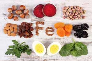 غذاهای آهن دار برای کودکان