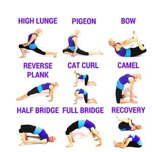 حرکات کششی گرم كردن قبل ورزش