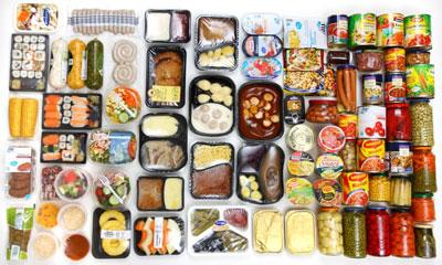 لیست مواد غذایی ناسالم